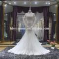 Vestido noiva fishtail open back long maxi mermaid wedding dress sale