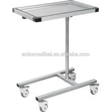 Table à instruments réglable en hauteur en acier inoxydable TT6745S