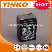 Rechargeable batterie d'acide de plomb 6V