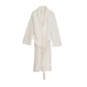 Women's Soft Fleece Robe  Warm Bathrobe