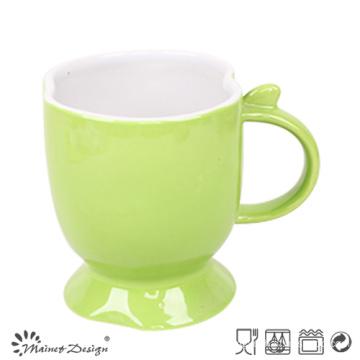 11oz Ceramic Mug Two Tone Glaze Footed Mug
