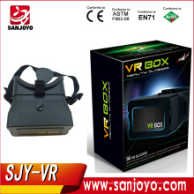 2016 New Design Products Vr Box 3d Glasses Virtual Reality Headset For Mobile Phone Vr 3d Glasses Helmet SJY-VR