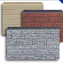 Revestimento de painel de parede isolado para acabamento exterior