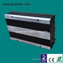 27dBm GSM850 + GSM1900 + 4G 2600 Tri Repetidor de la venda / impulsor de la señal de la célula (GW-27CPL)