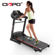 Machine de course sur tapis roulant Home Folding Treadmill Running Machine with 3 levels Incline manual Fitness