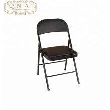 Silla plegable del metal del asiento plástico caliente de la venta