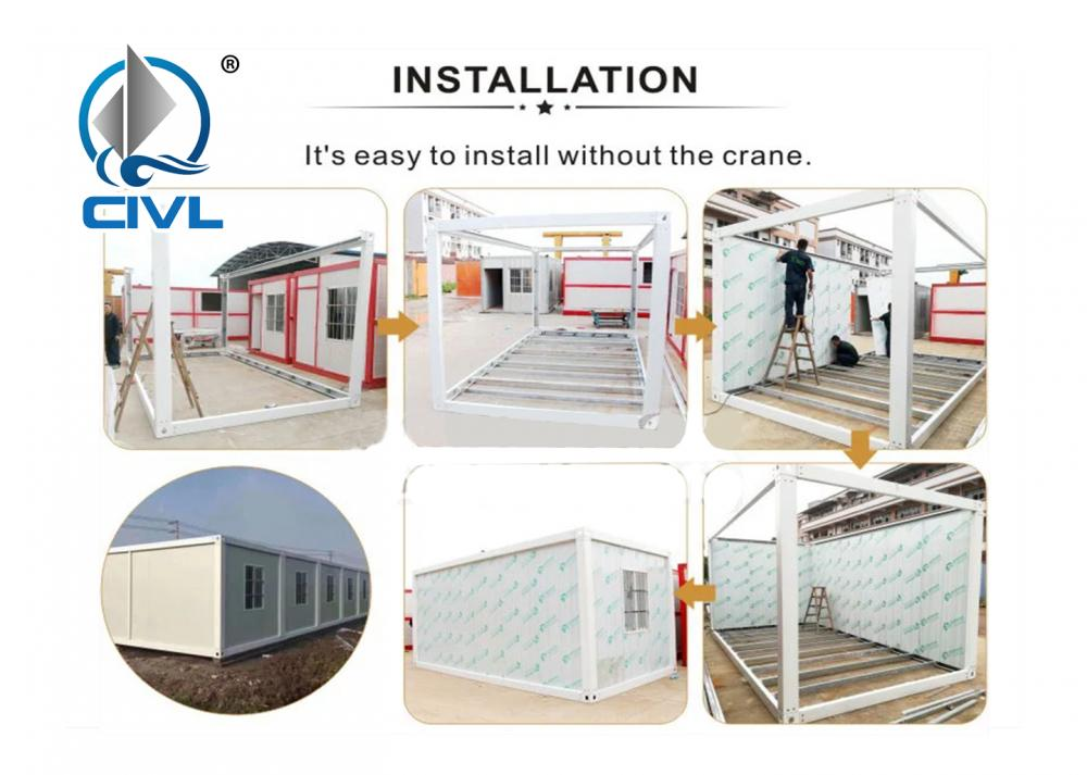 Container House Install