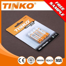 taille de 1, 5V AAA Lithium fer pile 1, 5V AAA de taille