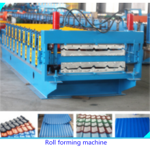 PPGI Glazed Tile Roofing Making Machine