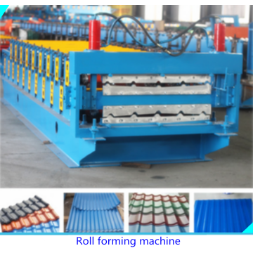 PPGI Glasad Tile Roofing Making Machine