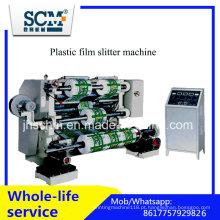 Máquina de corte e rebobinamento de filme plástico Scm BOPP