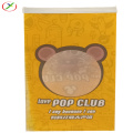 round window kraft paper popcorn bag