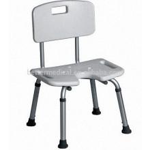 U shape seat Aluminum Shower cheap Chair