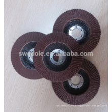 rueda de aleta de óxido de aluminio para acero inoxidable