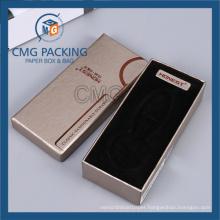Gold Bottom Lid Cardboard Box for Wallet