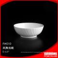 en vrac acheter de Chine porcelaine vaisselle blanc saladier