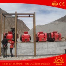 Triturador de rolo de escória de rolo duplo de qualidade ISO