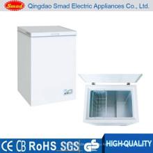 высокое качество горизонтальные глубокие мини холодильник морозильник
