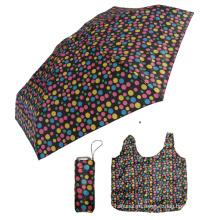 многоразовые влажные пакеты из полиэстера тонкий алюминиевый зонт