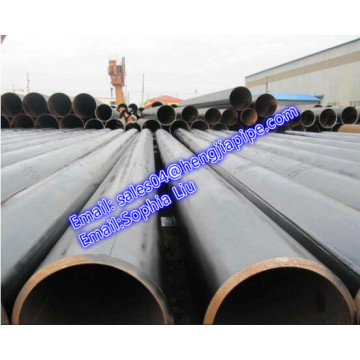 LSAW Paip API 5L X56 bevel end pipe