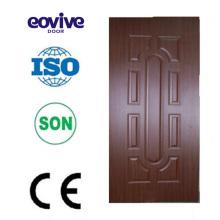 Melamina puerta hdf melamina puerta piel 4mm