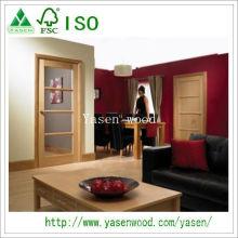 Exemple de nouvelle porte de placage en bois d'intérieur de conception