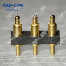 Conector de la batería de 3 clavijas con pasador de resorte