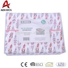 Bettbezug aus Mikrofaser mit 75 g / m², passend zu Kissenbezügen