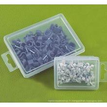 Série Hco (boîte en plastique avec carte mère) Clips de câble