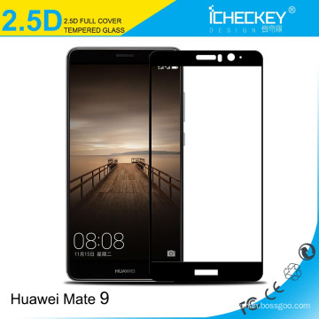 2016 0.33mm 2.5D templado protector de pantalla de cristal para Huawei mate 9