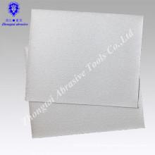 23*28cm P80 white coated abrasive sanding paper for wood