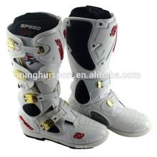 Hiver Populaire Imperméable Racing Motocross Bottes Pour Hommes Moto Vélo En Cuir Botas Moto Chaussures