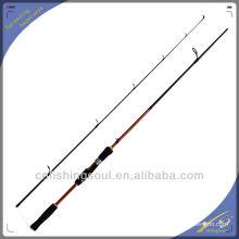 SPR025 fabricación china de alibaba caña de pescar trastos de pesca de china que hacen girar la barra costera