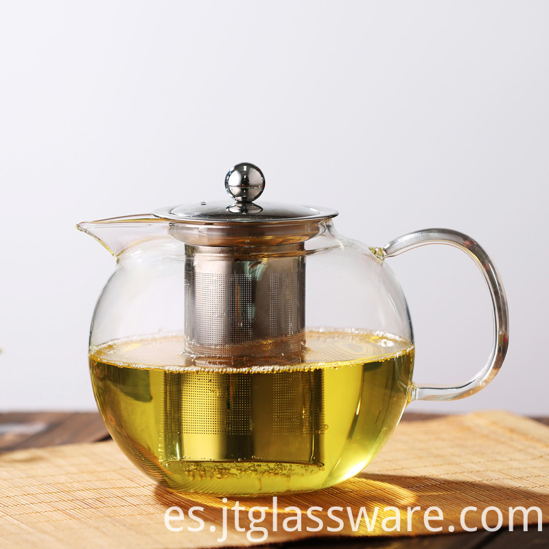 Glass Teapot Direct Heating