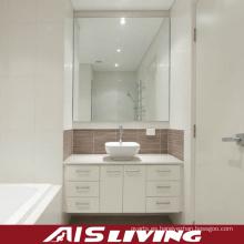 Vanidad del espejo de los gabinetes de baño del PVC para la venta al por mayor (AIS-B012)