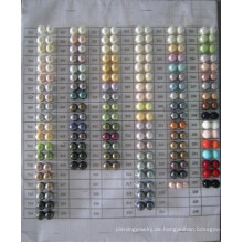 Shell Perlen Farbe Diagramm Daking