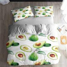 3D Printed Bedding Set, Suitable for Duvet Cover Set, Fruit