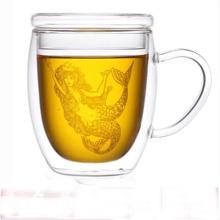 350ml Glass Coffee Mug