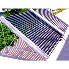 Chauffe-eau solaire de tube de vide pour le grand projet