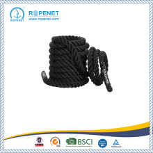 Đen Undulation Single Tricep Workout Rope