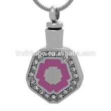 Haute qualité avec le meilleur prix en acier inoxydable souvenir bijoux pour cendres