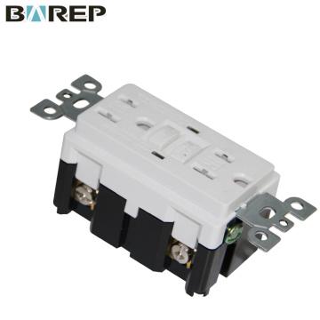 15A Interruptor GFCI de interrupción del circuito de falla a tierra del certificado de UL a prueba de manipulaciones