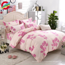 wholesale cheap 100% cotton fabric bedding set bed sheets