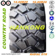 14.00r20, 16.00r20 Tube & Tubeless Tire off Road Tire Radial OTR Tire