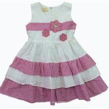 Vestido hermoso de verano en ropa de niños de venta caliente (SQD-126)