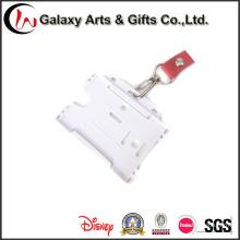 Titular do cartão de identificação prático com cordão