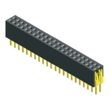1.27mm Pitch Dual Row Straight Type Vrouwelijke connector