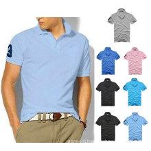 OEM Men′s Slim Sports Short Sleeve Casual Polo Shirt (XY-P08)
