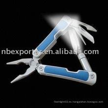 BTEL1363 Multi-Herramienta con linterna LED y manija de aluminio