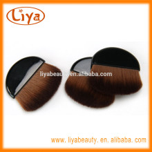 Cute Travel Makeup Nylon Hair Blush Brush with Black Handle